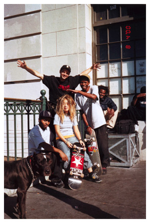 The Skateboarders Project 2000 by Nikki S Lee