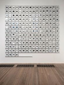 People in Trouble Laughing Pushed to the Ground (Dots), 2011 by Broomberg & Chanarin