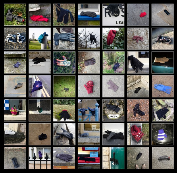 gloves grid