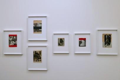 Frame divided by geometric shapes (Katrien de Blauwer)