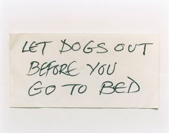 Keith Arnatt, Notes from Jo, 1991-1995