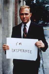 I'm Desperate, 1993 by Gillian Wearing