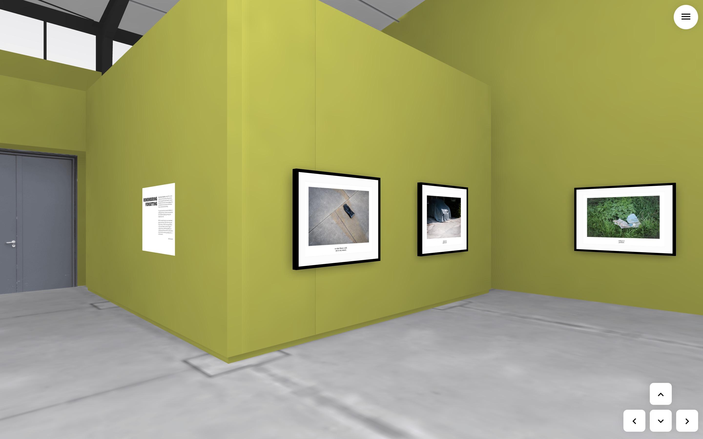 Virtual Exhibiiton mockup